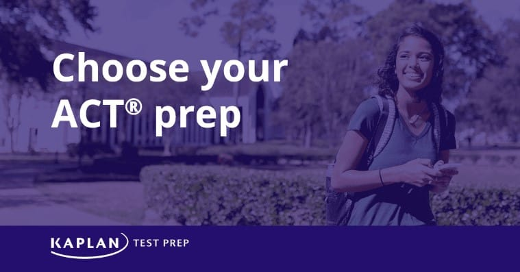 Choose your ACT prep