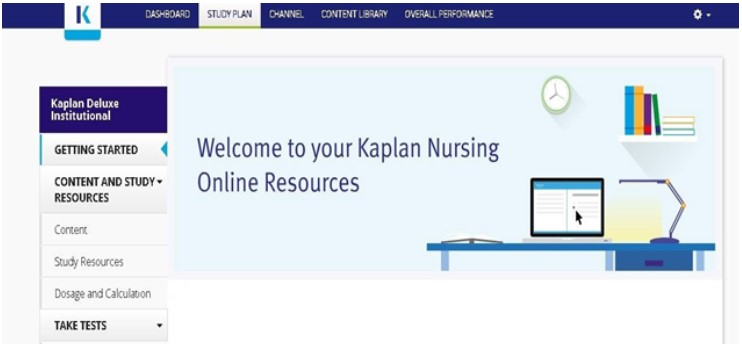 Welcome to kaplan Nursing