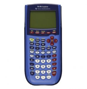 TI-73 Explorer Graphing